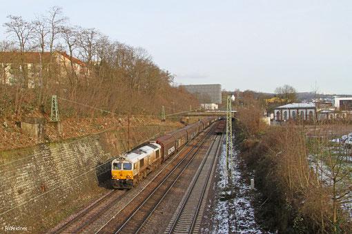ECR 77 033 mit EZ 47256 Saarbrücken Rbf West - Gretz-Armainvilliers/F (EV,Bosch), Saarbrücken 04.03.15