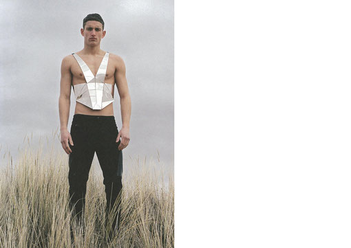 DANIELA KARLINGER // HERO UK mirror harness / MUGLER AW 11/12