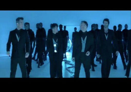 DANIELA KARLINGER // TAKE THAT / LOVE LOVE (X MEN SOUNDTRACK) mirror harness / MUGLER AW 11/12