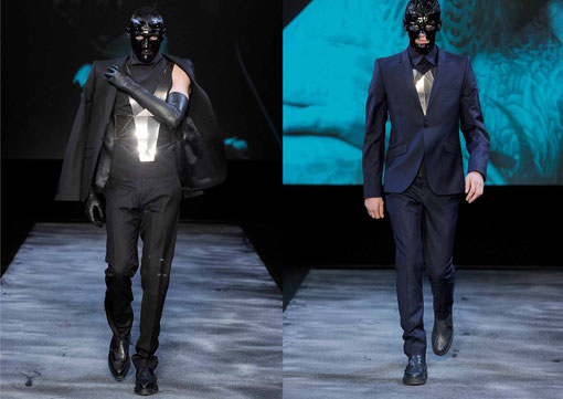 MUGLER / MENSWEAR / AW 11/12 mirror harness by DANIELA KARLINGER