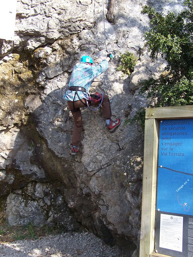Via Ferrata les Prises de la Bastille, Grenoble