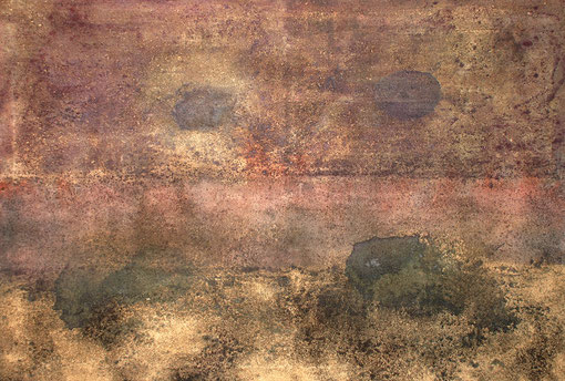 Los Ojos de Marte, 2004, 110 x 163 cm, auf Leinwand