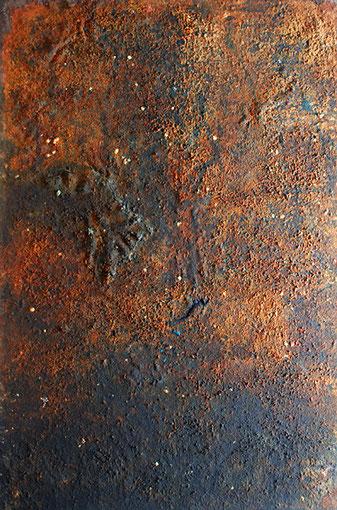 Urknall, 1999, 195 x 129, auf Leinwand