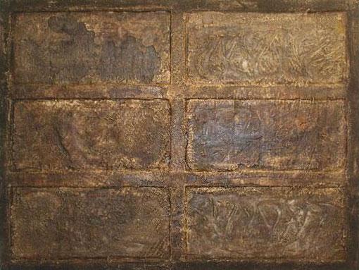 De par en par, 2003, 118 x 155 cm, auf Holz