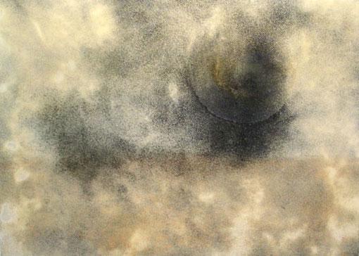Tormenta de Arena, 2004, 110 x 163 cm, auf Leinwand