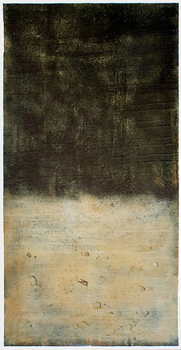 El principio del Fin, 2003, 230 x 120 cm, Mischtechnik auf Holz