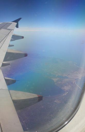 Les côtes tunisiennes .