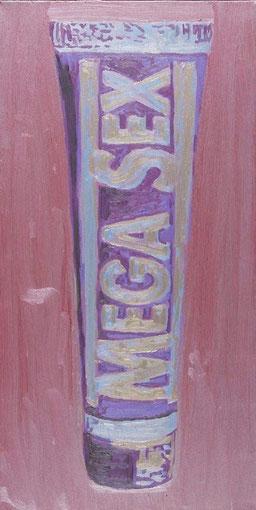 Laurent Gugli-Megacream 80x40 cm Acrylique sur toile