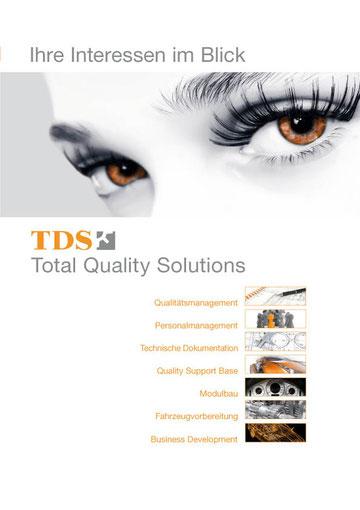 A4 Prospekt für TDS Darmstadt