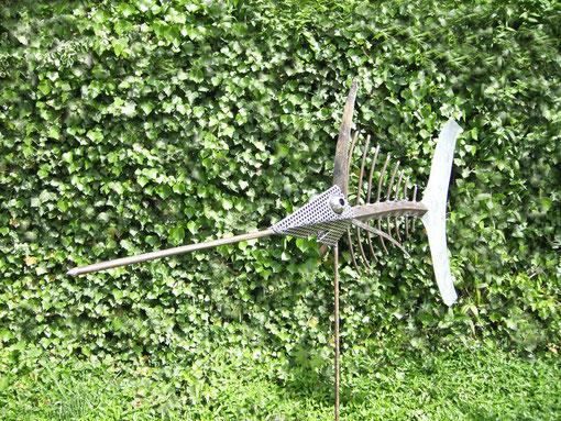 Schwertfisch-Skulptur