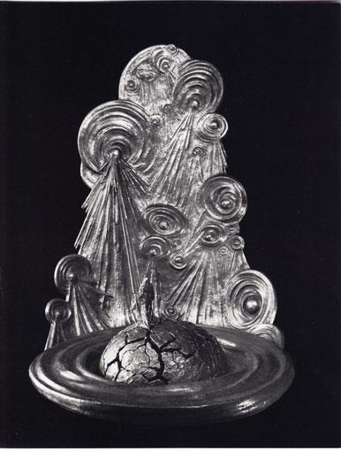 DER LETZTE MENSCH (II) 1980, Bronze, Höhe 106 cm