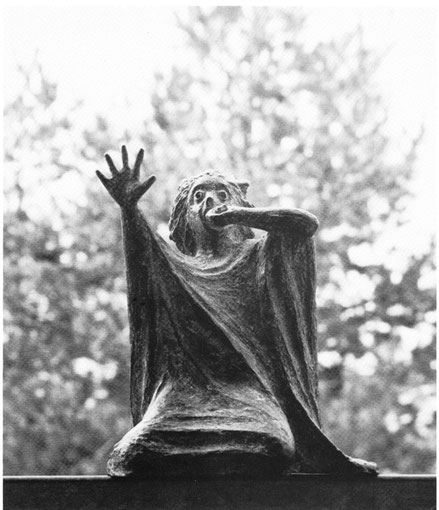 KASSANDRA 1978, Bronze, Höhe 23 cm
