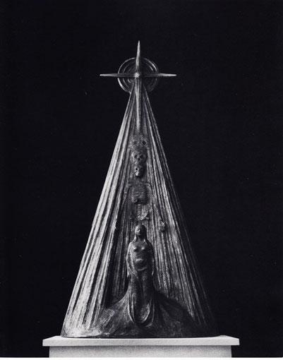 SCHATTEN DER EWIGKEIT 1981, Bronze, Höhe 120 cm