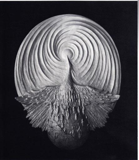PHÖNIX 1984, Bronze, Höhe 95 cm