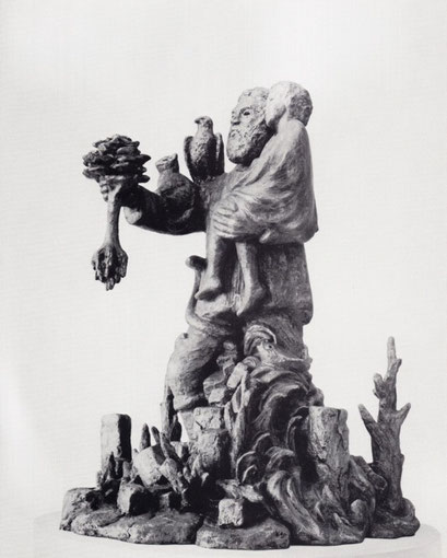 CHRISTOPHORUS '84, 1984, Höhe 56 cm