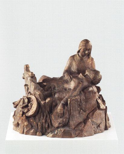 PIETÀ 2003, Bronze, Höhe 39 cm