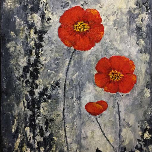 """Finding Hope""  14x18 framed acrylic on canvas $195"