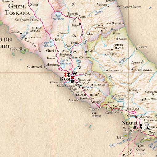 Goethe-Atlas: Schriften & Symbole