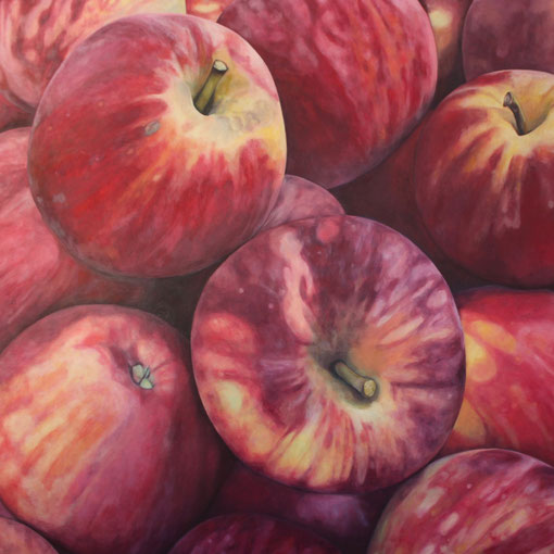malus domestica winesap 2017 90x80 oil/canvas