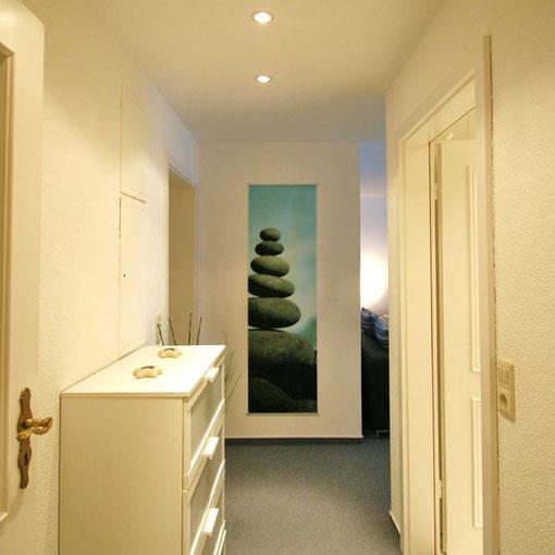 Eingangsbereich Souterrain-Wohnung