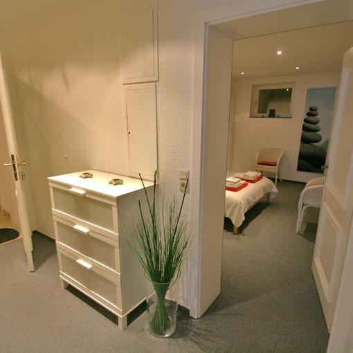Flurbereich zum Schlafzimmer