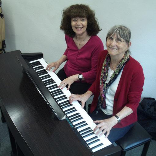 Klavier Unterricht 4 Hand