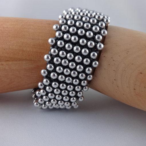 Armband silberne Drops von Ursula Raymann