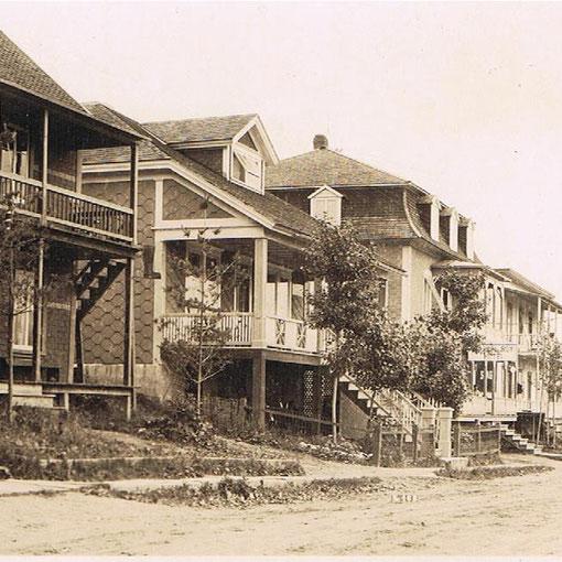 Centre du village en 1928