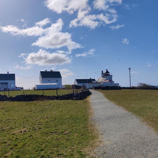 Pauls Fahrradtour zu einem Leuchtturm in der Nähe von Stavanger