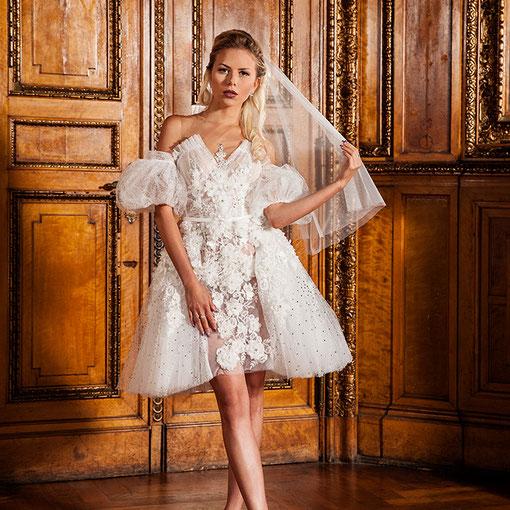 Luftig leichte Hochzeitskleider
