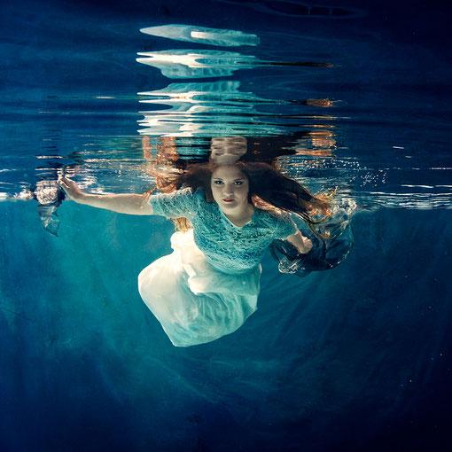 Junggesellinnenabschied Unterwasser Fashion