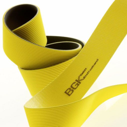 Produktaufnahme Endlosband, BGK Endlosband GmbH Heidenheim