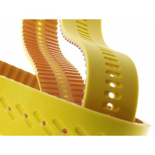 Detailaufnahme Endlosbänder, BGK Endlosband GmbH Heidenheim
