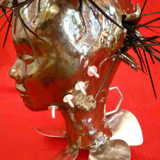 Full Metal Couple - ceramica smaltata in seconda cottura