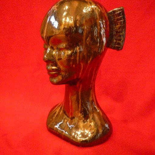 Babywoman - ceramica smaltata in seconda cottura