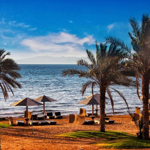 Am Strand von Dahab