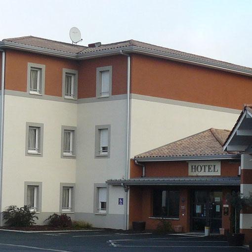 Hôtel *** Akena Relais - La Brède (Bordeaux Sud)