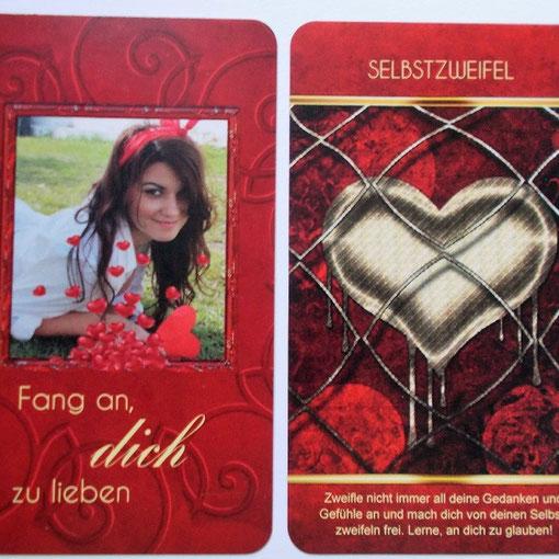 """Kartendeck """"Fang an, dich zu lieben"""""""