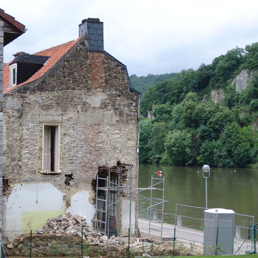 Transformation en bord de Meuse - chantier