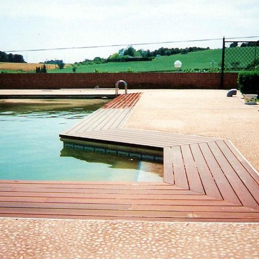 Tarima piscina Ipe