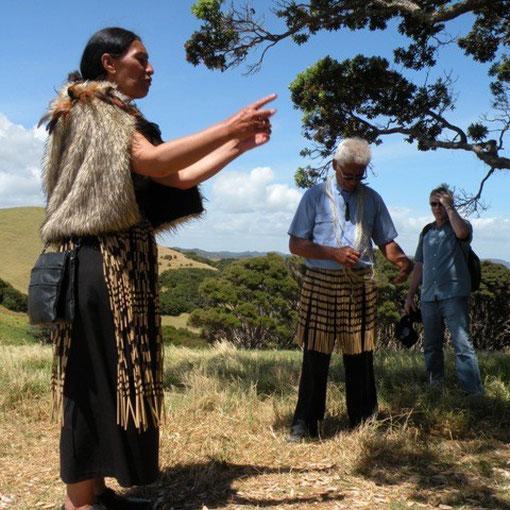 Bei den Maori in Urupukapuka