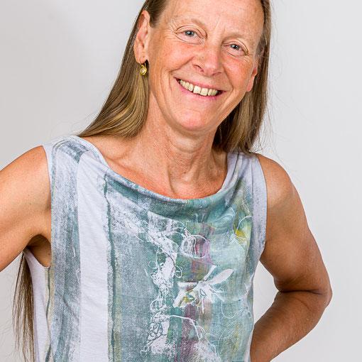 Shirt von Johanna Gramann Viskose/Elastan Gr. 36/38, 65 Euro