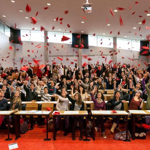 Universitarium #04 : étudiante / Amphithéâtre G / Faculté de Droit / Université de Nantes