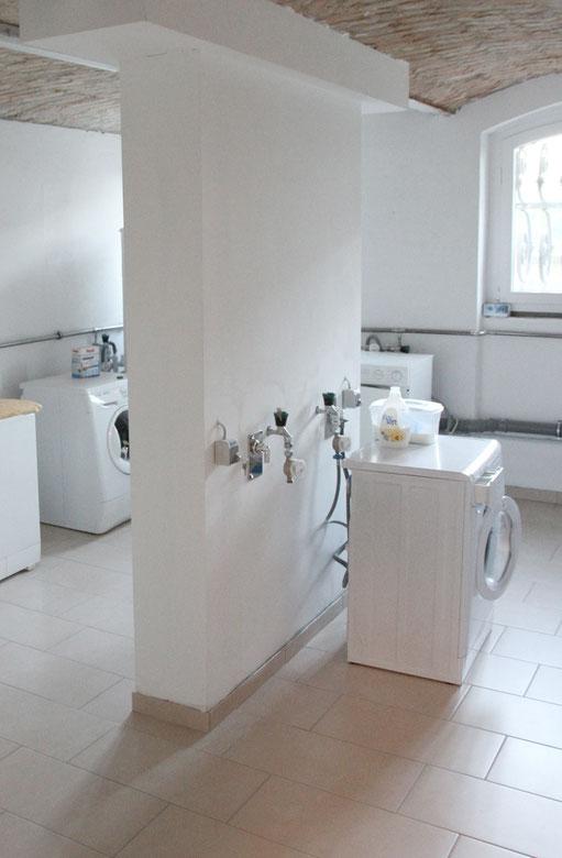 Waschküche im Keller