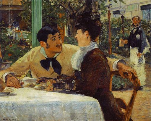 《ラテュイルおやじの店で》1879年