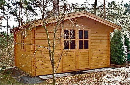 Praktisches Gartenhaus für Ihre Geräte und Gartenmöbel