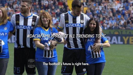 31日 10月 2017 自動車メーカー「ダチア(DACIA)」の心温まるセリエA集客プロジェクト!赤ちゃんを未来のサポーターに?