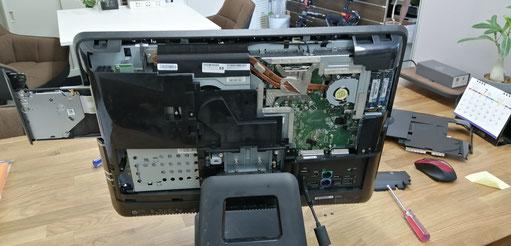 HP Compaq6000Pro,バックアップ,ビープ音