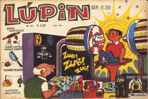 Mi primer revista Lúpin (yo tenía diez años)