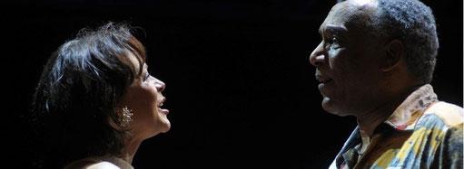 im Duett mit Harry Belafonte (Ron Williams)